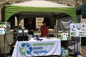 Earth Day booth 2014